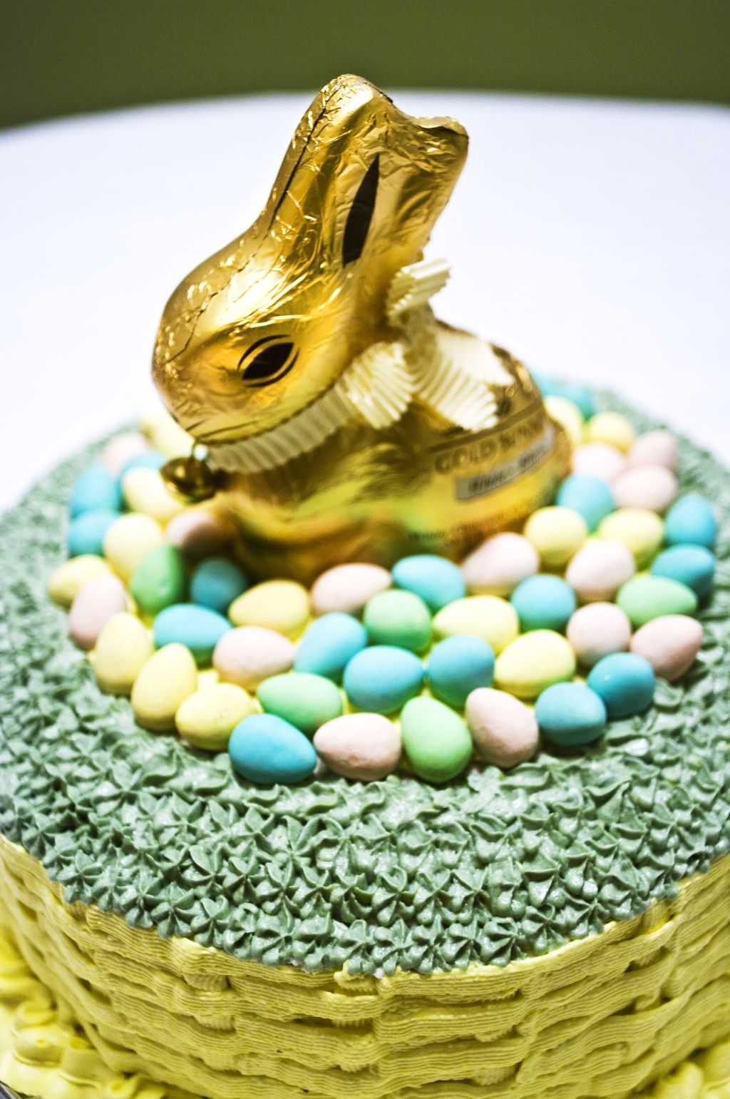 I Trapped The Easter Bunny And Mounted Him On A Cake Right In