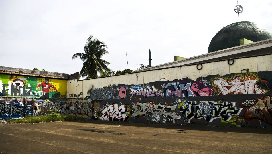graffiti masjid