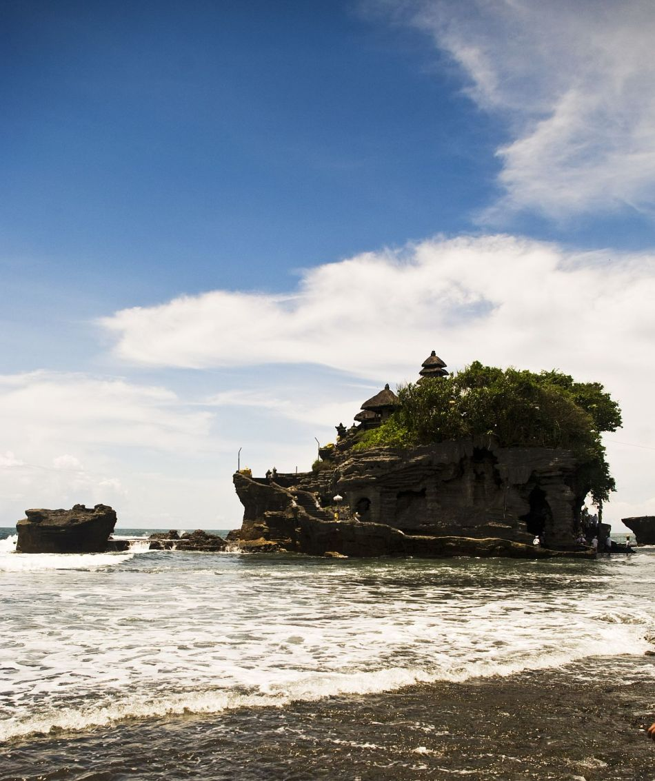 Tanah Lot too